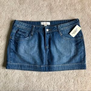 NWT Forever 21 Jean/Denim MINI Skirt